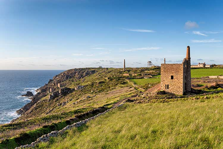 [Botallack - Wheal Owles with Wheal Edward, Crowns, Count House and Allen's Shaft]