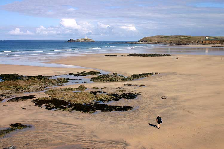[Godrevy - Gwithian Sands and the Island]