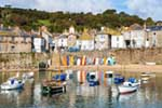 [Mousehole Harbour and Clock]