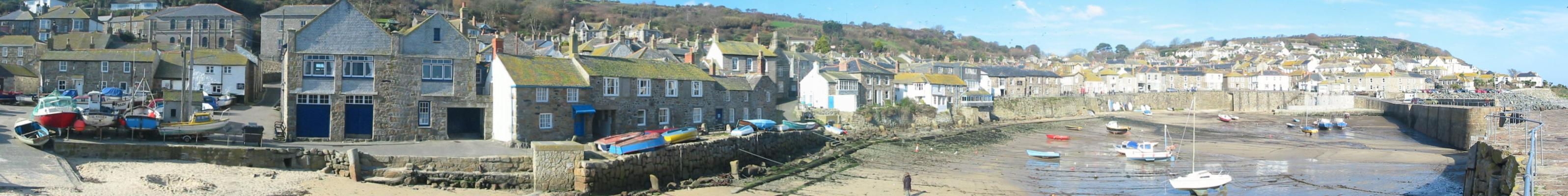 [Mousehole Harbour Panorama]