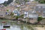 [Mousehole Houses overlooking the Harbour]