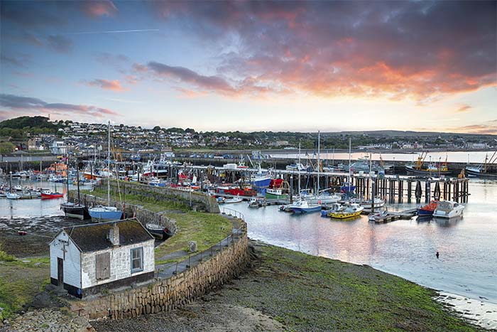[Newlyn Sunrise over the Harbour, Cornwall]