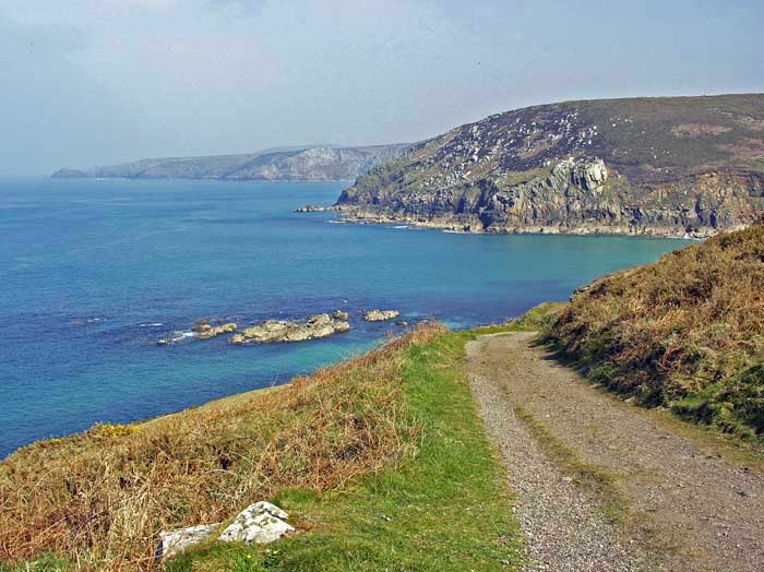 [Coast Path to Portheras Cove]
