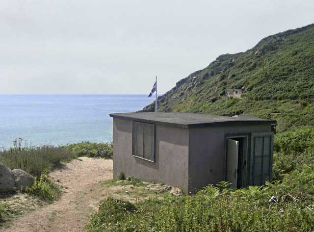 [Porthcurno, Cornwall - Cable Hut]