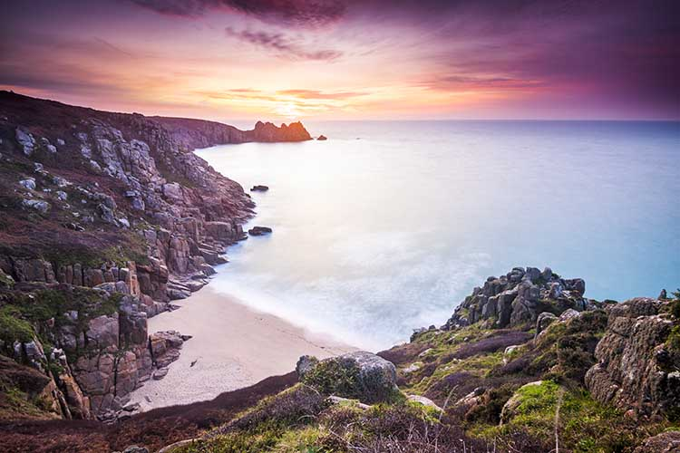 [Porthcurno, Cornwall - Logan Rock Sunrise #4]