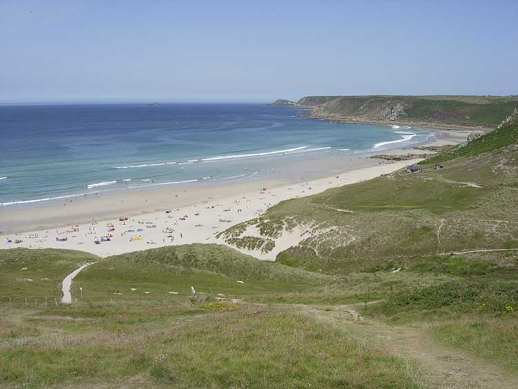 [Sennen Cove, Cornwall - Beach]
