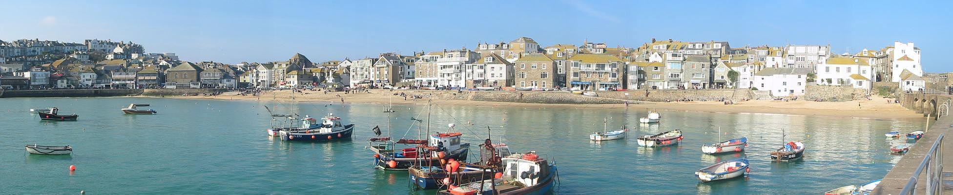 [St Ives Harbour Panorama]