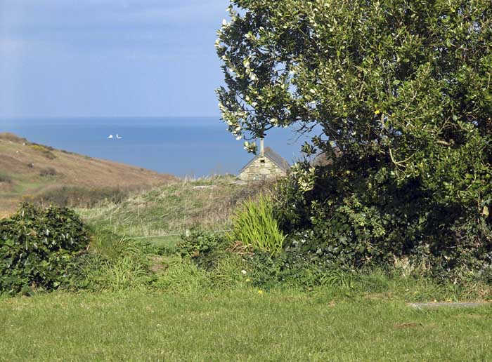 [Zennor, Cornwall - from the Tinners Arms Garden]